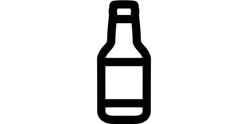 【ビール無料アイコン素材】ボトルビール