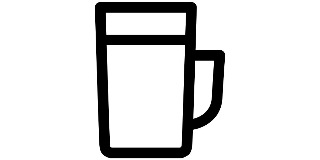 【ビール無料アイコン素材】ビアジョッキ